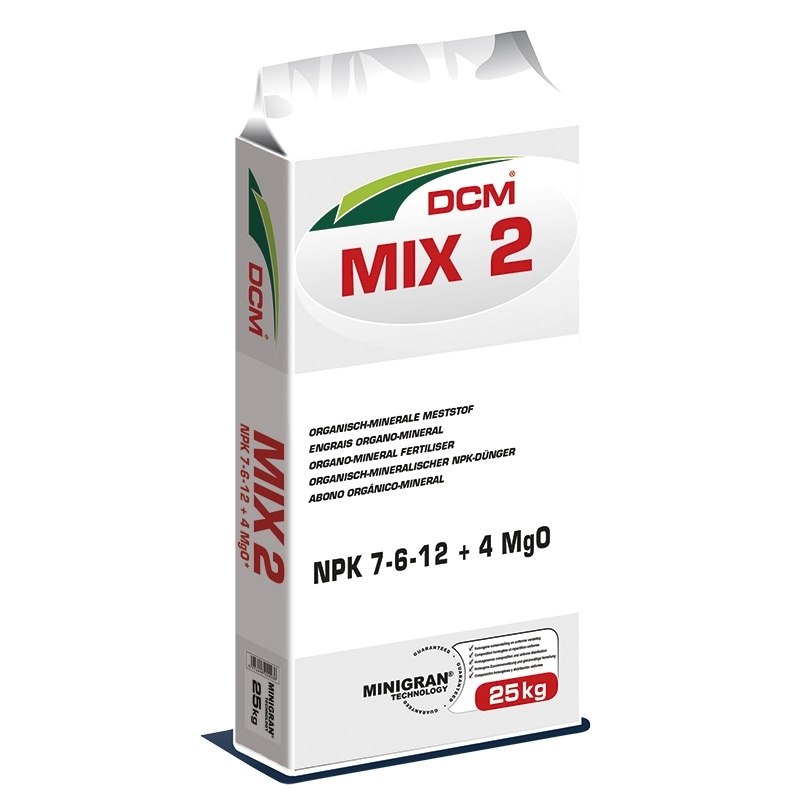 Organische meststof voor de tuin DCM Mix 2