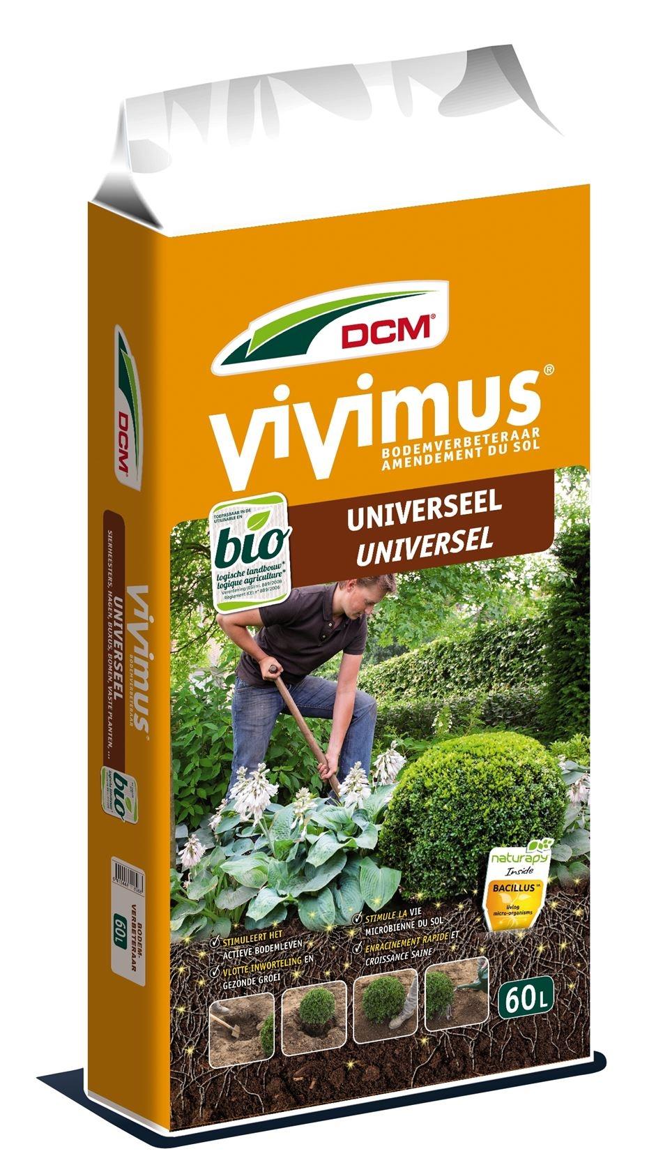 Vivimus bodemverbeteraar universeel DCM Grondverbeteraar